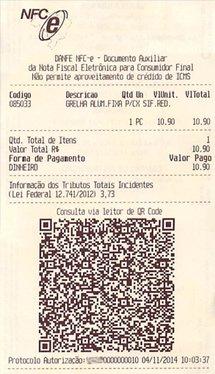 NFC-e - Nota Fiscal ao Consumidor Eletrônica